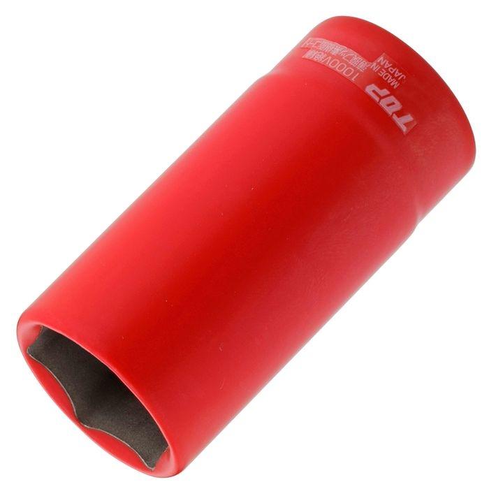 トップ工業 絶縁ディープソケット(差込角12.7) DS-419ZR 4975180340658
