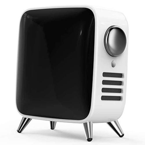 Divoom レトロテレビ型本格派Bluetoothスピーカー Tivoo ホワイト TIVOO-MAX_WHITE
