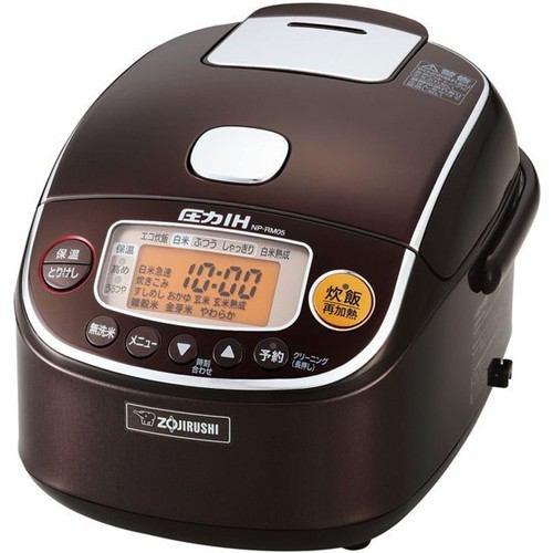 象印 圧力IH炊飯器 極め炊き 3合炊き ブラウン NP-RM05-TA