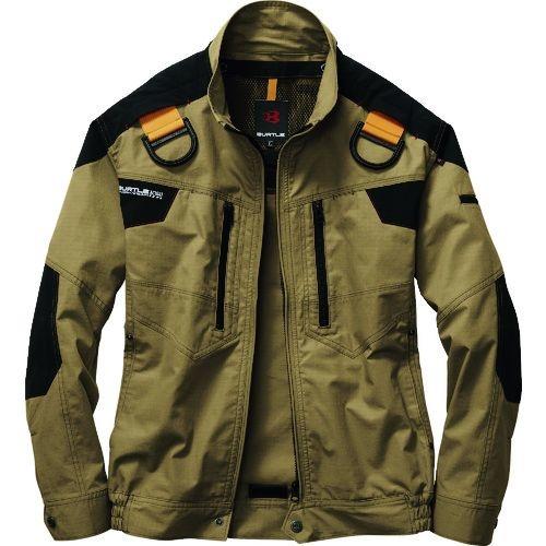 トラスコ中山 バ-トル エアークラフトジャケット AC1141-23-3L カーキ tr-1612033