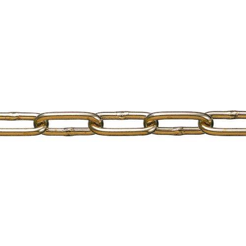 トラスコ中山 水本 黄銅チェーン BR-9 長さ・リンク数指定カット 1.1~2m tr-1599940