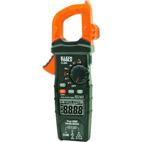 トラスコ中山 KLEIN デジタルクランプメーター 交流・直流電流測定用 tr-1610371