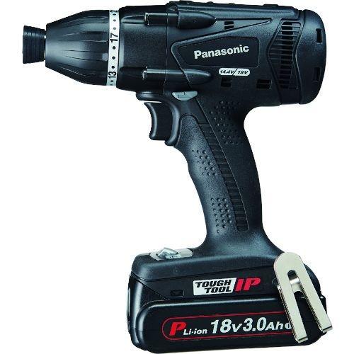 トラスコ中山 Panasonic デュアル マルチインパクトドライバー 18V3.0Ahセット品 黒 tr-1678690