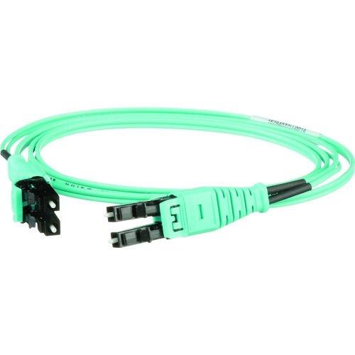 トラスコ中山 パンドウイット プッシュブル式LCデュプレックス光ファイバーパッチコード OM3 10m 1本入り FZ2ERQ1Q1SNM010 tr-1487229