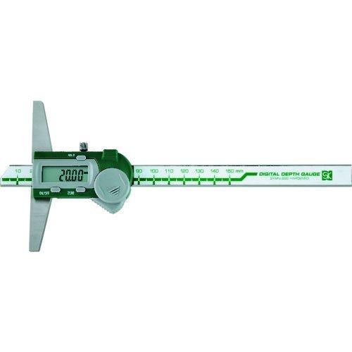 トラスコ中山 SK デジタルデプスゲージ 150mm tr-1614954