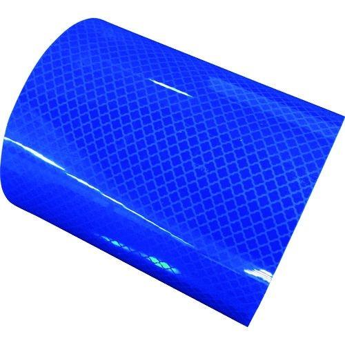 トラスコ中山 日東エルマテ 高輝度プリズム反射テープ90mmX5M ブルー tr-1607645