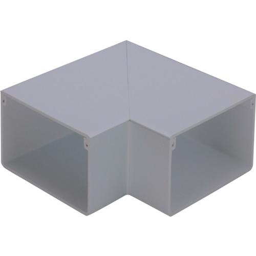 トラスコ中山 マサル エムケーダクト付属品 平面マガリ 5号 グレー tr-1203506