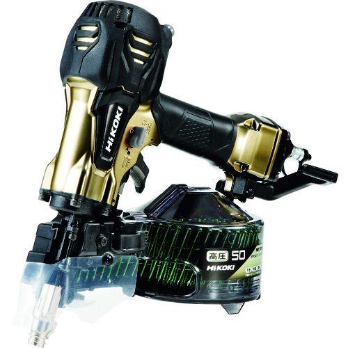 トラスコ中山 HiKOKI 高圧ロール釘打機50mmハイゴールド パワー切替機構付 tr-1588665