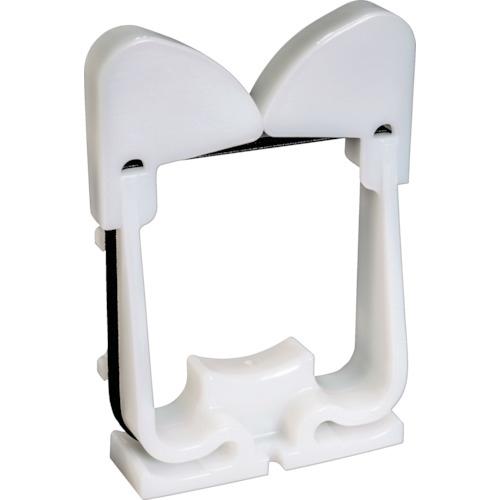 トラスコ中山 パンドウイット ハーネスボードアクセサリ エラスティックリテイナー 白 10個入 tr-8285939