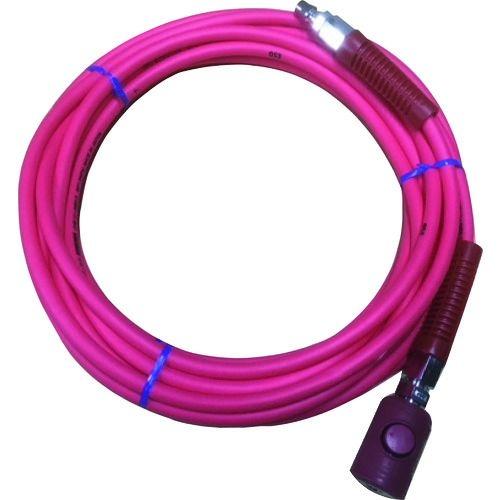 トラスコ中山 ヤマト PVCソフトブレードエアホース(ボタン式カップリング付) tr-1374273