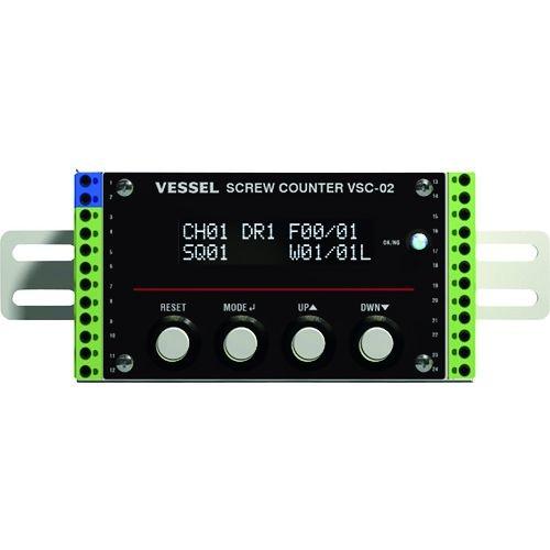 トラスコ中山 ベッセル ACタイプ用スクリューカウンター VSC-02 tr-1490942