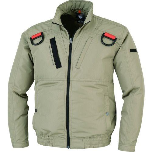 トラスコ中山 ジーベック 空調服遮熱ハーネスブルゾンXE98103-81-4L tr-1609299