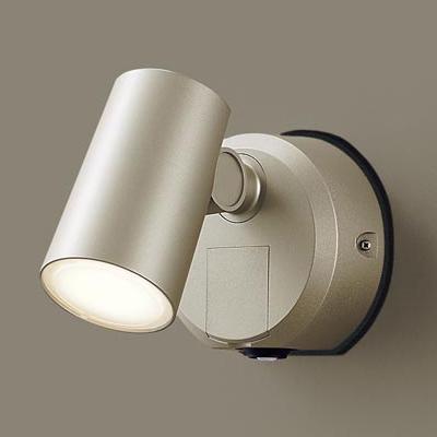 パナソニック スポットライトセンサ付プラチナ電球色 LSEWC6006YLE1