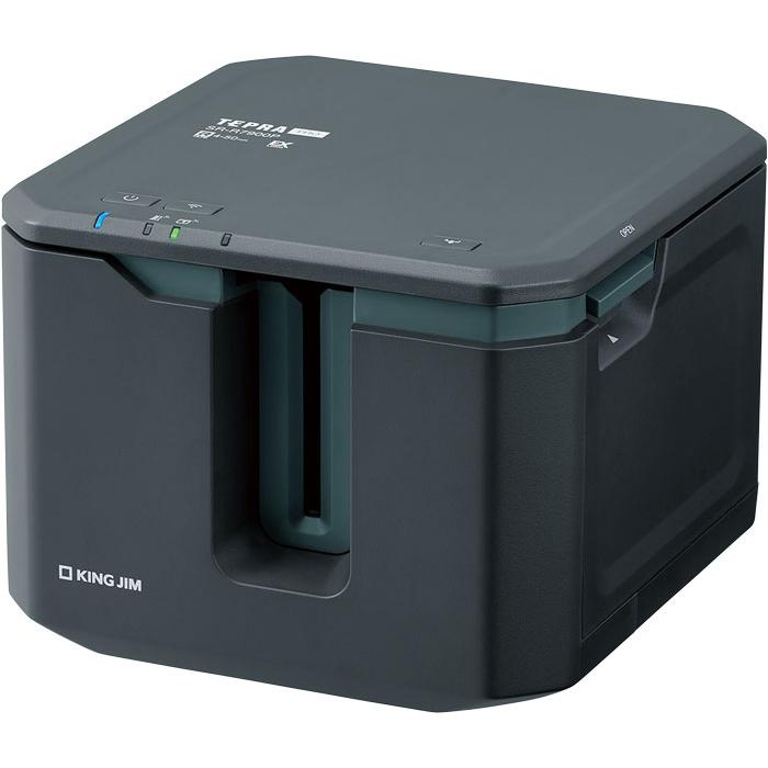 キングジム 広幅、大量印刷に適した、PC・スマホ専用「テプラ」最上位モデル。 SR-R7900P