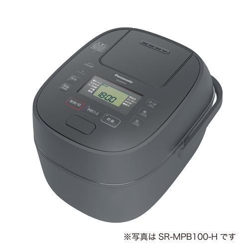 パナソニック IHジャー炊飯器 1升 グレー SR-MPB180-H【納期目安:2週間】