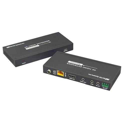 ラトックシステム 4K60Hz対応 HDMI延長器(100m) RS-HDEX100-4K