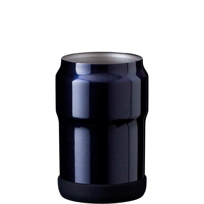 アトラス 【24個セット】ウェンズ真空断熱缶ホルダー350ネイビー AWCH-350NVx24