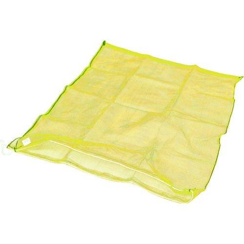 送料無料 期間限定お試し価格 トラスコ中山 TRUSCO メッシュ袋 大 1枚入 黄色 目合4mm tr-2067145 国産品 90L 100X100cm