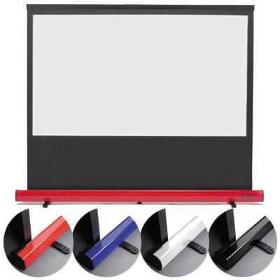 キクチ 16:9ワイド画面80インチスクリーン「Stylist Limited」 (SD80HDPG)(青) SD-80HDPG/B【納期目安:2週間】