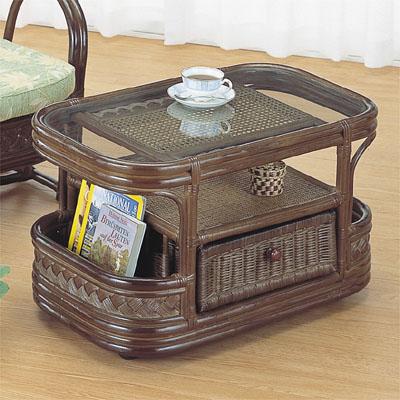 今枝商店 Romantic Rattan テーブル T501B