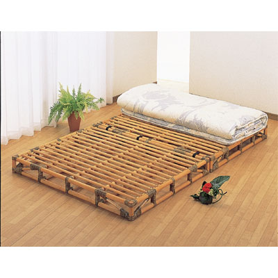 今枝商店 Romantic Rattan ベッド Y907