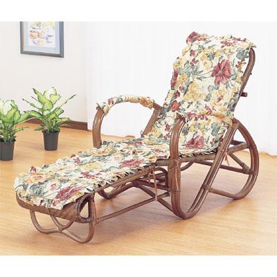 今枝商店 Romantic Rattan 三つ折寝椅子 A111B