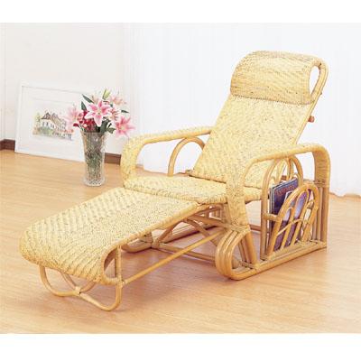 今枝商店 Romantic Rattan 三つ折寝椅子 A113