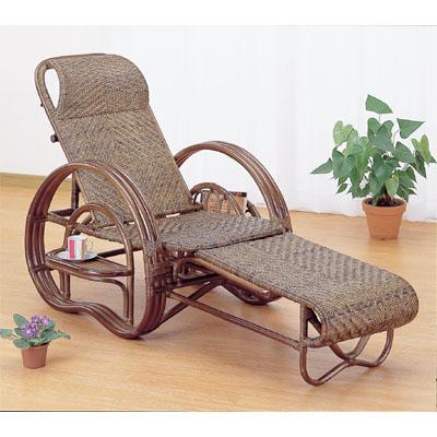 今枝商店 Romantic Rattan 三つ折寝椅子 A202B