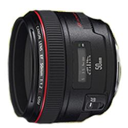 キヤノン (予約品:納期約3ヶ月)高画質・標準Lレンズ「EF50mm F1.2 USM」 EF5012LU【納期目安:1週間】