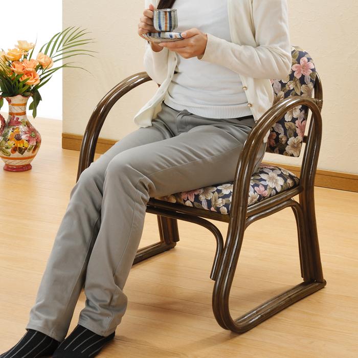 今枝商店 Romantic Rattan 座椅子 ミドル S212B