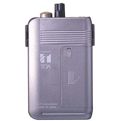 TOA 簡易同時通訳・工場案内用携帯型受信機(2チャンネル型) WT-1101-C11C13【納期目安:1週間】