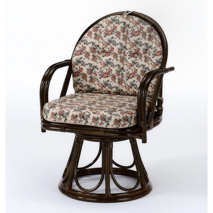 今枝商店 Romantic Rattan 籐回転座椅子 S254B