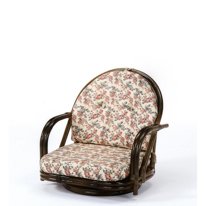 今枝商店 Romantic Rattan 籐回転座椅子 S251B