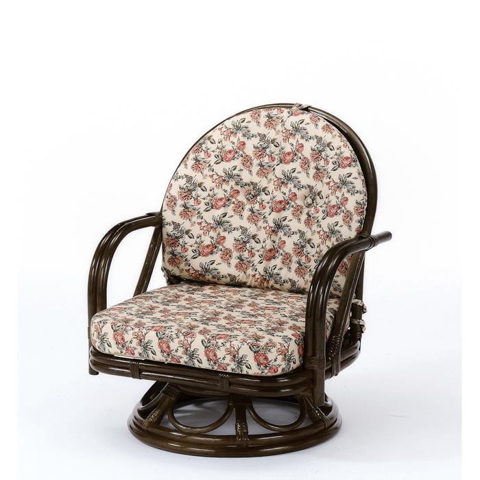 今枝商店 Romantic Rattan 籐回転座椅子 S252B