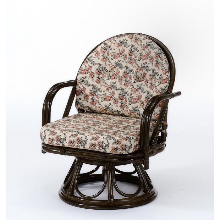 今枝商店 Romantic Rattan 籐回転座椅子 S253B