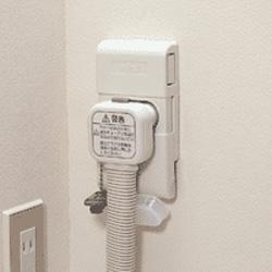 富士通 温水コンセント「壁貫き用-標準タイプ」(温水チューブ120cm/10m信号線付き) KBC-20ST