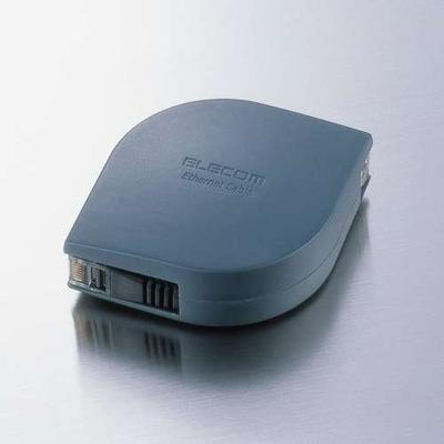 エレコム 携帯用ウルトラフラットLANケーブル 選択 2m BK2 ブラック 送料無料新品 LD-MCTF