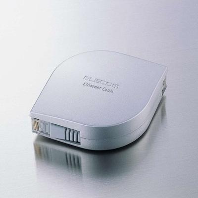 エレコム 完全送料無料 携帯用ウルトラフラットLANケーブル 2m SV2 シルバー 爆売りセール開催中 LD-MCTF