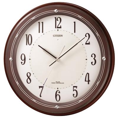 リズム時計 サイレントソーラーM796 4MY796-006