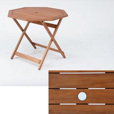 不二貿易 八角テーブル 90cm GT04FB 81061
