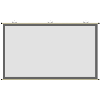 キクチ 壁掛タイプスクリーン PGV-100HDC【納期目安:2週間】