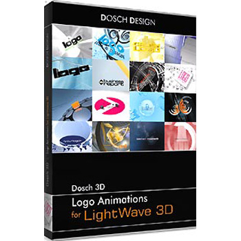 DOSCH DESIGN DOSCH 3D: Logo Animations for Lightwave3D D3D-LALW