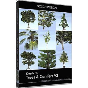 DOSCH DESIGN DOSCH 3D: Trees & Conifers V3 D3D-TCV3