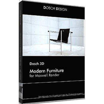 DOSCH DESIGN DOSCH 3D: Modern Furniture for Maxwell Render D3D-MF-MR