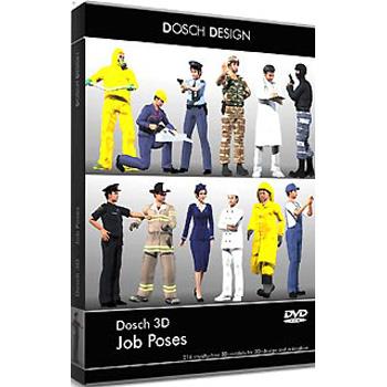 DOSCH DESIGN DOSCH 3D: Job Poses D3D-JP