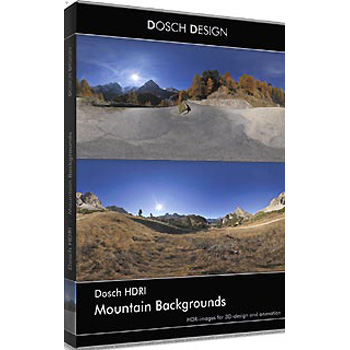 DOSCH DESIGN DOSCH HDRI: Mountain Backgrounds DH-MOUNB
