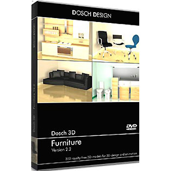 DOSCH DESIGN DOSCH 3D: Furniture V2 D3D-FU