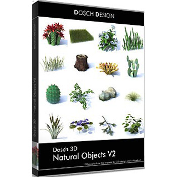 DOSCH DESIGN DOSCH 3D: Natural Objects V2 D3D-NOV2