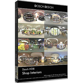 DOSCH DESIGN DOSCH HDRI: Shop Interiors DH-SHIN