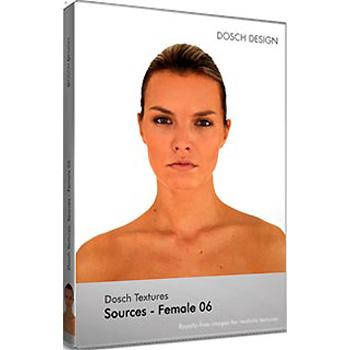 DOSCH DESIGN DOSCH Textures: Sources - Female 06 DT-SFE06